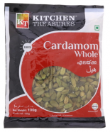 Kitchen Treasures Cardamom Whole 100g